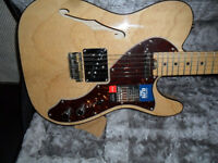 fender elite tele thinline,mint