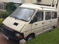 1990 'G' Renault Trafic 2.1D Holdsworth Camper Project