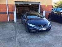Blue Honda Civic 1.6 DTEC (NIL TAX)