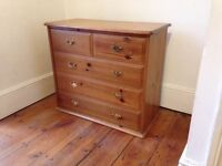 Retro Chest of Drawers (woodstain)
