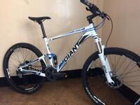 Giant anthem 4.0 double suspension custom built mountain bike