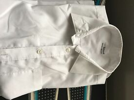Boys M&S shirts , good condition