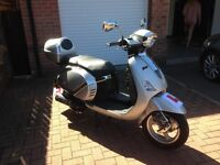 Lambretta pato 50cc excellent purchased for daughter who no longer wants to ride