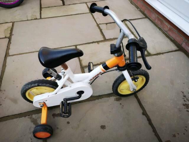 edb7bcbb043 hudora kids bike 10 inch in orange and white | in Great Sankey ...
