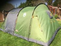 Quick up Coleman galileo 5 tent bundle with extension porch