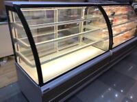 Genfrost carina patisserie cake fridge display. Ex display