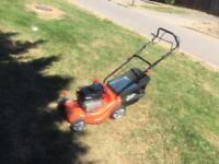 Petrol Lawnmower with self drive good working order£70ono