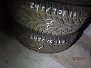 245/70R16 one only USED SAILUN WINTER TIRES