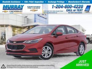 2017 Chevrolet Cruze LT Auto *Bluetooth, Heated Seats, Remote St