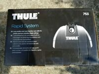 Thule 753 footpack and Thule fitting kit 4013 for roof bars / roofbars £80 ono