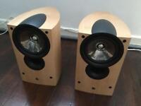 Kef iq1 loudspeakers Boxed like new