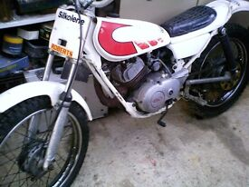 yamaha ty 80cc kids trials bike
