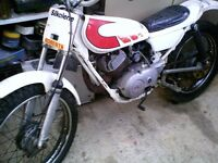yamaha ty 80cc kids trials bike