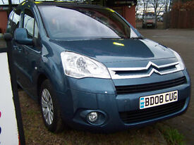 2008 08 citreon berlingo mukltispacelimited edition diesel hdi lot,s of space cargo boxes £3395