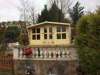 12x8 stunning t&g summer house