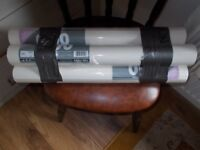 4 BRAND NEW UNOPENED ROLLS OF 1200 GRADE LINING PAPER