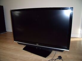 "JVC 42"" inch BLACK TV FOR SALE"