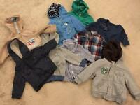 12-18 month Hoody and shirt bundle