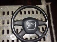 audi b7 steering wheel