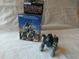 Zore - Vintage 80s Tomy Zoid toy - Very good condition, complete, boxed