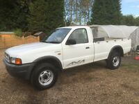 Ford ranger 4x4 single cab pickup truck