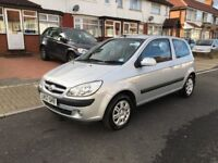 Hyundai Getz 1.5 CRTD CDX+ 3dr, FULL SERVICE HISTORY, HPI CLEAR,