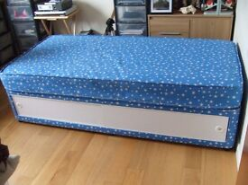 Single Divan Bed With Mattress And Under Storage
