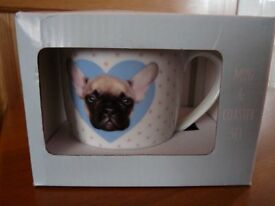 Brand New in Box - Mug & Coaster - Cute Puppy