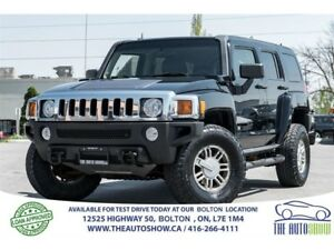2006 Hummer H3 H3 Premium Pkg. Leather + Sunroof
