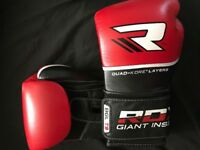 RDX Leather MMA/Boxing Gloves