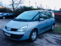 Renault Espace 1.9 turbo diesel..full mot..7 seater..ideal family car.. nationwide delivery 1295
