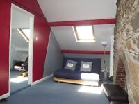 BEDROOM AND SEPARATE ATTIC LIVING SPACE FOR RENT TO CLEAN AND TIDY WORKING PERSON OR MATURE STUDENT