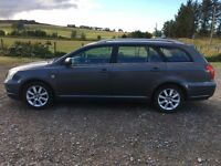 **TOYOTA AVENSIS ESTATE - DIESEL - FULL TOYOTA SERVICE HISTORY FROM NEW - 1 YEARS MOT**