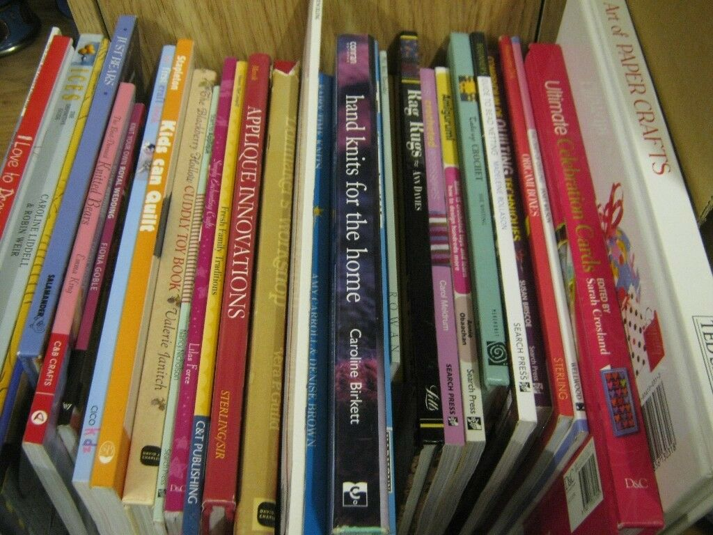 Craft books, assortment of crafts. £1.75 each, 3 for £4.50