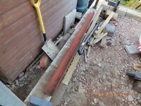 Used steel lintel