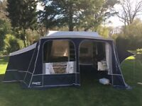Camp-let Camplet Concorde Special Edition trailer tent with anex, awning, bike rack and much more.