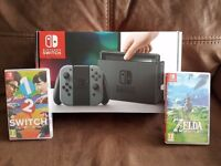 Nintendo Switch With 2 Games Receipt Swap for Macbook Pro or iMac