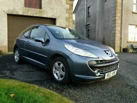 Late 2008 Peugeot 207 1.4, 3dr, Grey, low miles