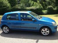 RENAULT CLIO 1.1 DYNAMIQUE 2004 -6 MONTHS MOT -SERVICE HISTORY - CHEAP CAR TO TAX AND INSURE