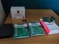 Raspberry Pi 3 Model B, full starter kit, Fully loaded