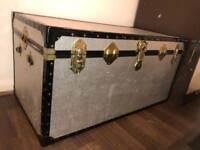 Nice 2 xl metal storage box comes with keys