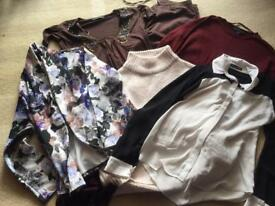 Bundle of ladies size 10 clothes