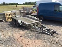 Bradley 2600kg plant trailer