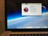 15 inch Apple Macbook Pro - F-A-S-T SSD hard drive upgraded to 8Gb Ram (Certified Mac pair)