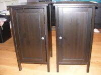 1 X IKEA HEMNES BEDSIDE TABLE / CABINET