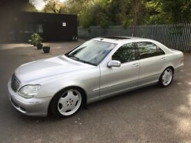 For sale Mercedes Benz SCLASS 320cdi Diesel 2005 yr MOT till Sep 2019 mileage 192796 full options