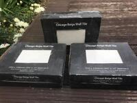 Ceramic Chicago Beige Wall Tiles NEW x3 boxes