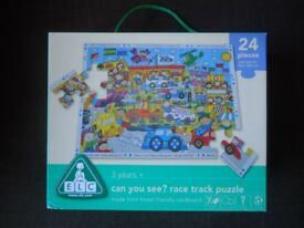 ELC Race Track 24 piece jigsaw - Brand New £5 **FREE DELIVERY**