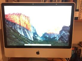 "iMac 24"" 2.8ghz Intel Core 2 Duo"