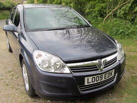 VAUXHALL ASTRA ACTIVE 2009 1.4 16v Petrol - Low Mileage